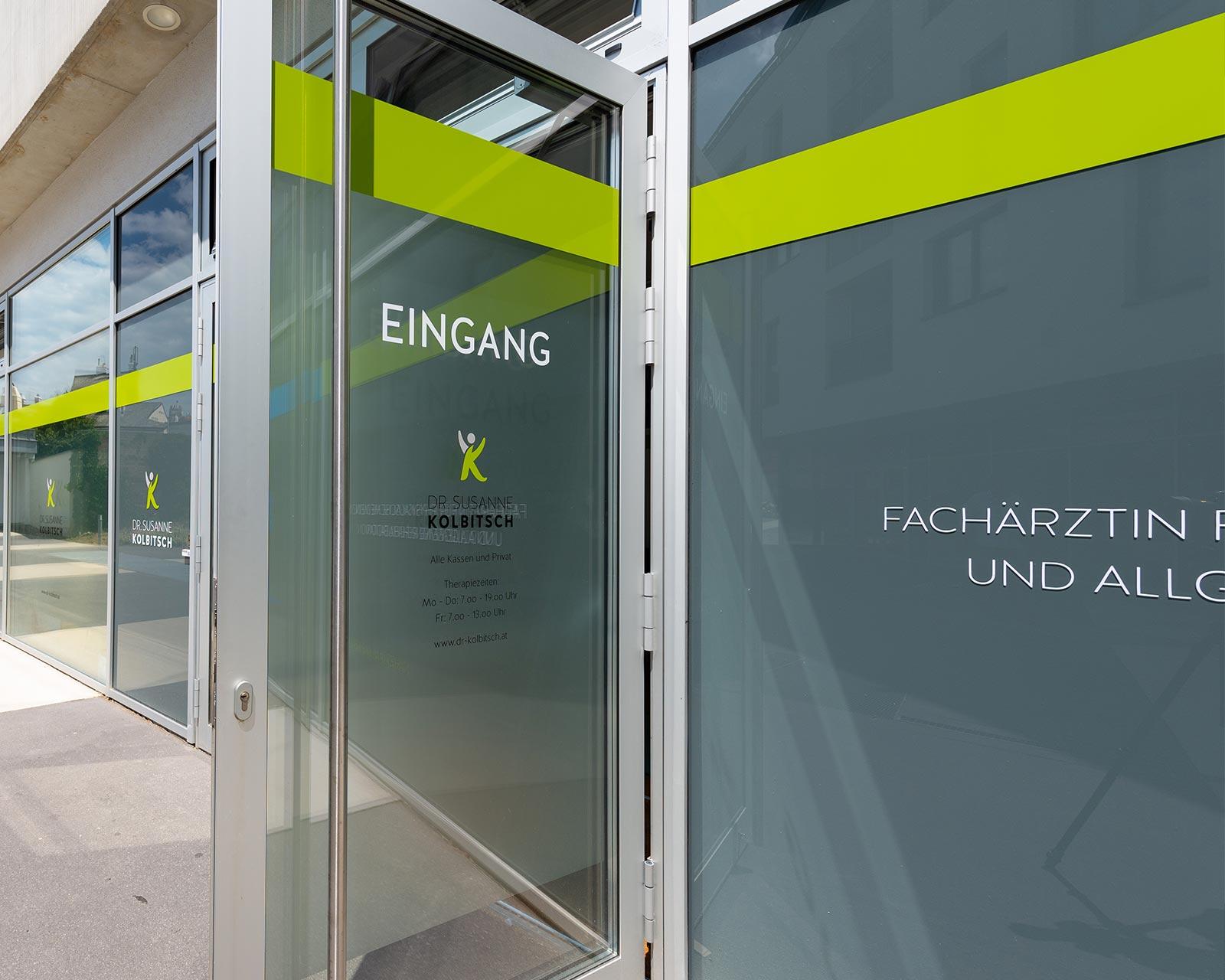 Mauritz Design Portfolio Dr Kolbitsch Banner